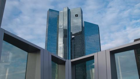 Außenaufnahme der Deutschen Bank
