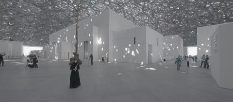 Im neuen Louvre in Abu Dhabi