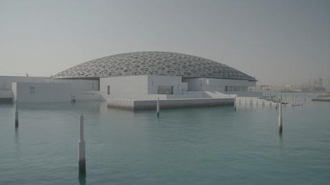 """Das spektakuläre """"Wüsten-Louvre"""" im Öl-Staat Abu Dhabi"""