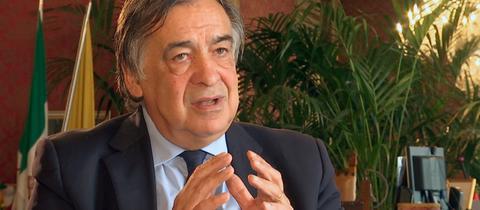 Palermos Bürgermeister Leoluca Orlando