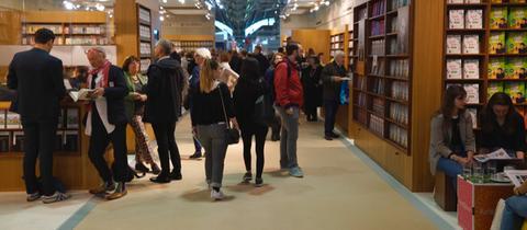 Unterwegs auf der Frankfurter Buchmesse