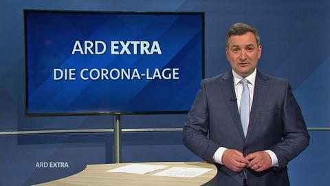 """Markus Gürne moderiert das """"ARD extra: Die Corona-Lage"""""""