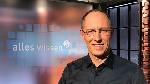 """Thomas Ranft moderiert """"Alles Wissen"""""""
