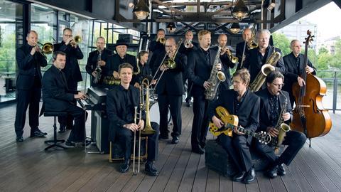 Die hr-Bigband ohne Dirigent 2014