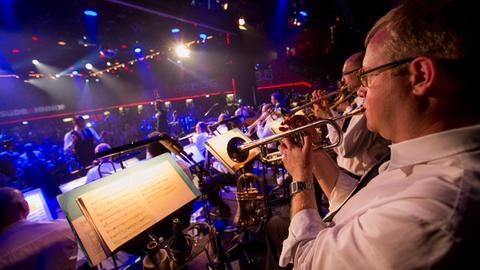 Die hr-Bigband im Musiklokal Südbahnhof