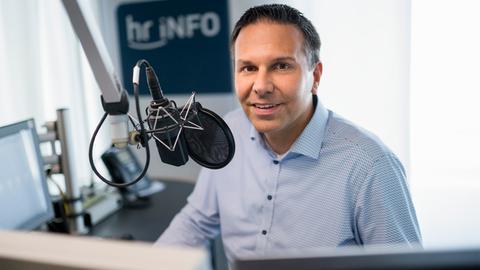 Dirk Wagner, Moderator von hr-iNFO