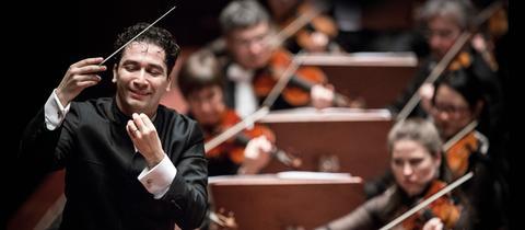 Andrés Orozco-Estrada – Chefdirigent des hr-Sinfonieorchesters
