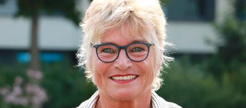Die Grüne Spitzenkandidatin Daniela Wagner