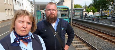 Vias-Krisenhelfern Sybille Diehl und Thomas Pfeifer