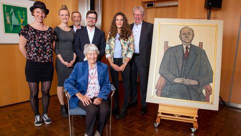 Gruppenbild mit Preisträgern