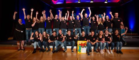 Bigband der Albert-Schweitzer-Schule Alsfeld - Gewinner beim 7. Hessischen Schulbigband-Wettbewerb 2018