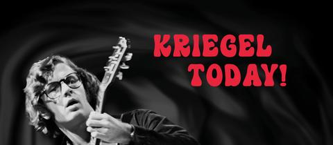 "CD-Cover der hr-Bigband-CD: ""Kriegel Today!"""
