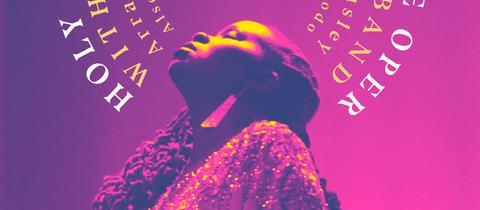 "Grafik Albumvover Somi  ""Holy Room - Live at Alte Oper with Frankfurt Radio Big Band"""