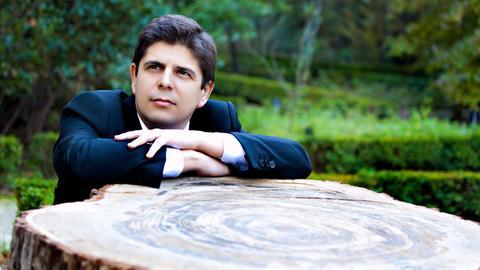 Der spanische Klaviervirtuose Javier Perianes