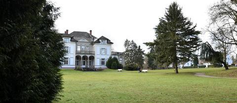 Villa Wertheimber im Gustavsgarten in Bad Homburg