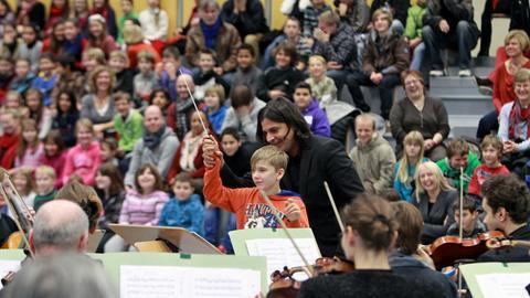 Schultour des hr-Sinfonieorchesters