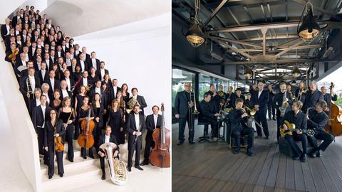 hr-Sinfonieorchester und hr-Bigband