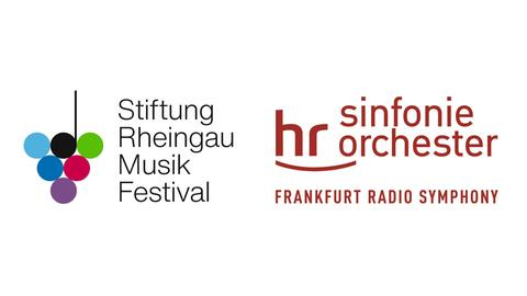 Logo Kombination hr-Sinfonieorchester Rheingau Musik Festival Stiftung