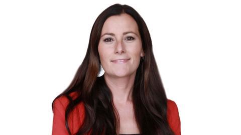 Janine Wissler in der hr1-Satire-Lounge