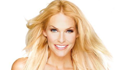 Model und Moderatorin Sonya Kraus