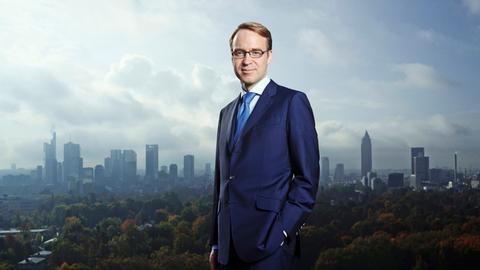 Der Präsident der Bundesbank Jens Weidmann