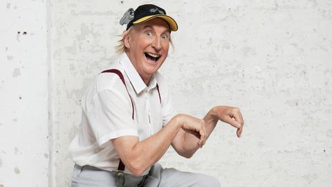 Der Komiker und Schauspieler Otto Waalkes