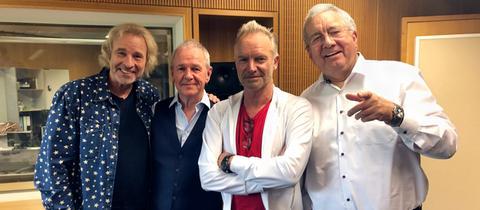 Gottschalk, Egner, Sting und Reinke