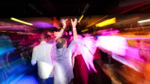 Super Stimmung beim hr1-Dancefloor