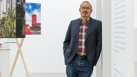 Peter Cachola Schmal, Direktor des Deutschen Architekturmuseums Frankfurt (DAM).