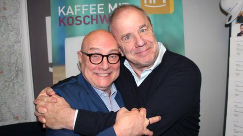 Hubertus Meyer-Burckhardt (r.) und Thomas Koschwitz