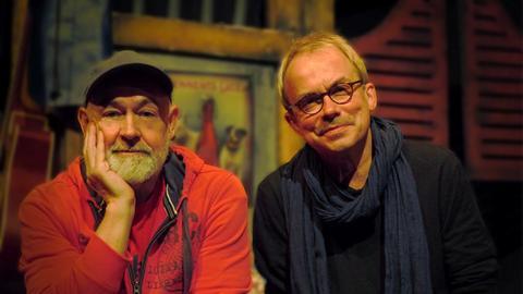 Gerd Knebel und Henni Nachtsheim vom Comedy-Duo Badesalz