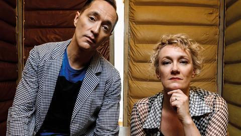 47. Deutsches Jazzfestival Frankfurt 2016 vom 26. bis 30. Oktober 2016: Julia Huelsmann und Theo Bleckmann.