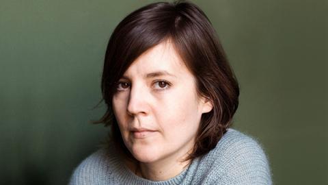 Die Schriftstellerin Julia Wolf