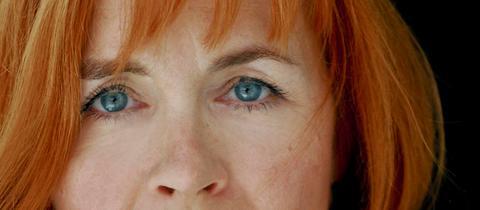 Die Schauspielerin Andrea Wolf