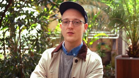 Joshua Schößler ist der hr2-Literaturpreisträger 2017