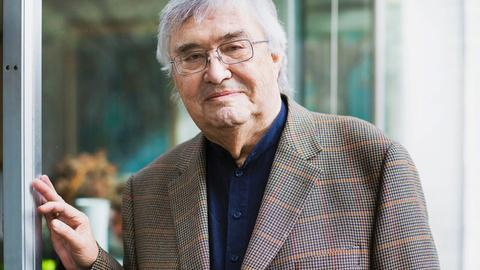Der Schriftsteller Peter Härtling