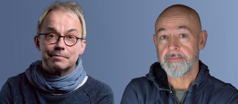 Das Komiker-Duo Badesalz, Henni Nachtsheim (li.) und Gerd Knebel
