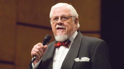 "60 Jahre ""Swingtime"": Moderator Bill Ramsey"