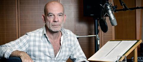 Der Schauspieler Martin Wuttke