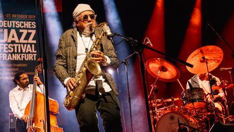 Charles Lloyd Quintet im hr-Sendesaal beim 50. Deutschen Jazzfestival Frankfurt