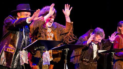 """Live-HörSpiel-Western vom hr2-RadioLiveTheater – """"Old Shatterhand unter Kojoten"""""""