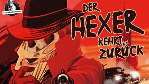 """Plakat """"Der Hexer kehrt zurück"""""""
