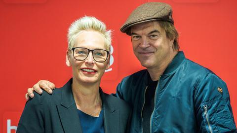 Campino im hr3-Talk mit Bärbel Schäfer