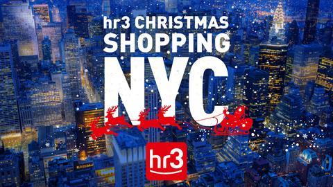 "Aktionslogo ""hr3-Christmas Shopping NYC"""
