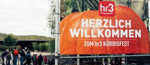 Das hr3-Kürbisfest im Opel-Zoo in Kronberg