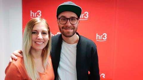 hr3-Moderatorin Kate Menzyk und Sänger Mark Forster