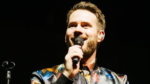 """Johannes Strate, Frontmann der Band """"Revolverheld"""""""