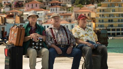 """Vorpremiere des ARD-Degeto-Films """"Krügers Odyssee"""" mit Horst Krause"""