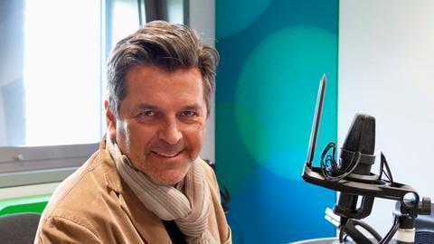 Popsänger Thomas Anders zu Gast im hr4-Studio