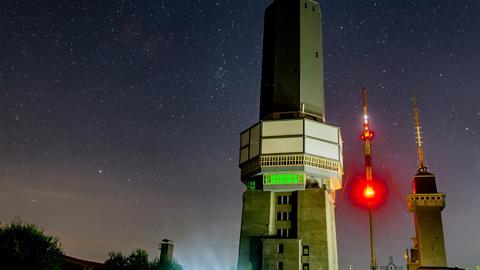 Momentaufnahme - Feldberg bei Nacht